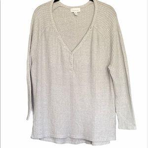 Top Shop Grey 3/4 Sleeve